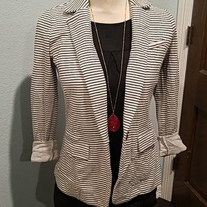 Banana republic cotton blazer